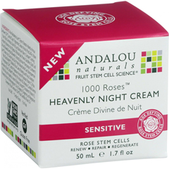 HGR1548429 - Andalou NaturalsHeavenly Night Cream - 1000 Roses - 1.7 oz