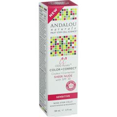 HGR1548437 - Andalou NaturalsColor plus Correct - Sheer SPF 30 - Nude - 2 oz