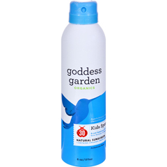 HGR1550011 - Goddess GardenSunscreen - Organic - Sunny Kids - Sport Spray - 6 fl oz