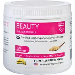 HGR1551423 - Mushroom MatrixBeauty Matrix - Organic - Powder - 7.14 oz