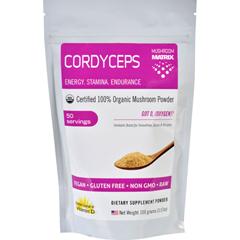 HGR1551472 - Mushroom MatrixCordyceps Militaris - Organic - Powder - 3.57 oz