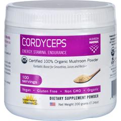 HGR1551480 - Mushroom MatrixCordyceps Militaris - Organic - Powder - 7.14 oz