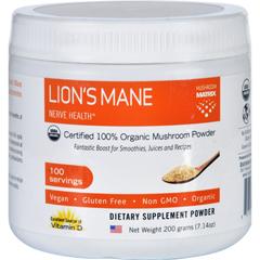 HGR1551555 - Mushroom MatrixLions Mane - Organic - Powder - 7.14 oz