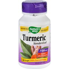 HGR1554997 - Nature's WayTurmeric - Maximum Potency - 750 mg - 60 Vegetarian Capsules