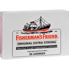 HGR1555390 - Fisherman's FriendLozenges - Original Extra Strong - Dsp - 38 ct - 1 Case