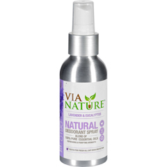 HGR1556240 - Via NatureDeodorant - Spray - Lavender and Eucalyptus - 4 fl oz