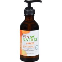HGR1556299 - Via NatureCarrier Skin Care Oil - Apricot - Moisturizing - 4 fl oz