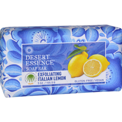 HGR1556521 - Desert EssenceBar Soap - Exfoliating Italian Lemon - 5 oz