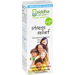 HGR1556976 - Sidda Flower EssencesStress Relief - Kids - Age Two Plus - 1 fl oz