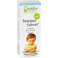 HGR1556984 - Sidda Flower EssencesTemper Tamer - Kids - Age Two Plus - 1 fl oz