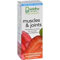 HGR1557107 - Sidda Flower EssencesMuscles and Joints - 1 fl oz