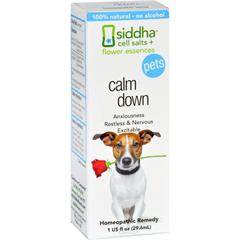 HGR1557180 - Sidda Flower EssencesCalm Down - Pets - 1 fl oz
