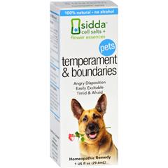 HGR1557214 - Sidda Flower EssencesTemperment and Boundaries - Pets - 1 fl oz
