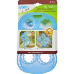 HGR1558568 - BornfreeSummer Infant Tru Clean Nipple Wash Rack - 2 Pack
