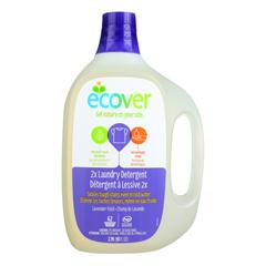 HGR1558766 - Ecover - 2X Laundry Detergent - Lavender Field - Case of 4 - 93 FL oz..