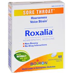 HGR1558808 - BoironRoxalia Tablets - Sore Throat - 60 Tablets