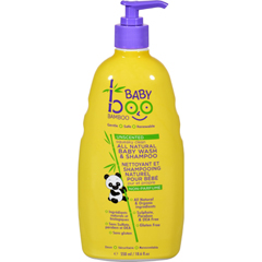 HGR1559954 - Boo BambooBaby Wash and Shampoo - Unscented - 18.6 fl oz