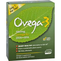 HGR1561091 - Ovega3 - 500 mg - 30 Softgels