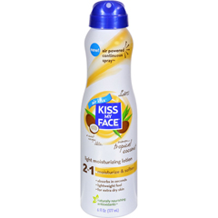HGR1564145 - Kiss My FaceLotion - 2 in 1 - Continuous Spray - Coconut - 6 fl oz
