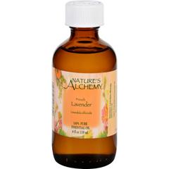 HGR1564988 - Nature's AlchemyEssential Oil - 100 Percent Pure - Lavender - 4 fl oz