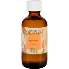 HGR1565019 - Nature's AlchemyEssential Oil - 100 Percent Pure - Peppermint - 4 fl oz