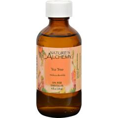 HGR1565035 - Nature's AlchemyEssential Oil - 100 Percent Pure - Tea Tree - 4 fl oz