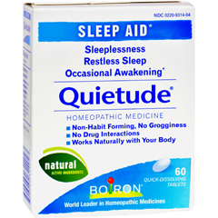 HGR1565456 - BoironQuietude Tablets - Restless Sleep - 60 Tablets