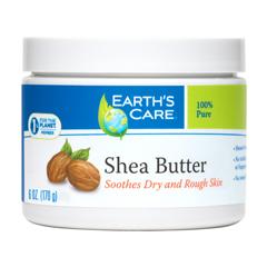 HGR1566223 - Earth's CareShea Butter - 100 Percent Pure - Natural - 6 oz