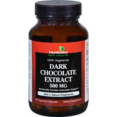 HGR1571777 - FutureBioticsFuturebiotics Dark Chocolate Extract - 500 mg - 60 Vegetarian Capsules