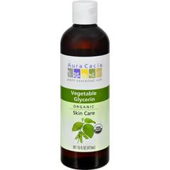 HGR1571850 - Aura CaciaSkin Care Oil - Organic Vegetable Glycerin Oil - 16 fl oz