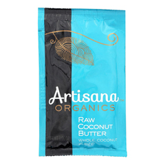 HGR1572023 - Artisana - Organic Raw Coconut Butter - Squeeze Packs - 1.06 oz.. - Case of 10