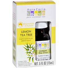 HGR1572130 - Aura CaciaEssential Oil - Pure - Lemon Tea Tree - .5 fl oz