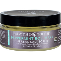 HGR1576206 - Soothing Touch - Scrub - Organic - Salt - Herbal - Peppermint Rosemary - 10 oz