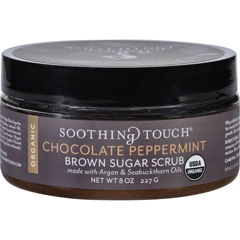 HGR1576222 - Soothing TouchScrub - Organic - Sugar - Chocolate Peppermint Brown Sugar - 8 oz