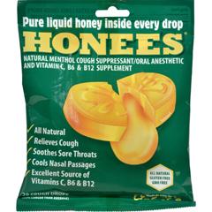 HGR1576511 - HoneesCough Drops - Extra Large - Menthol - 20 Count