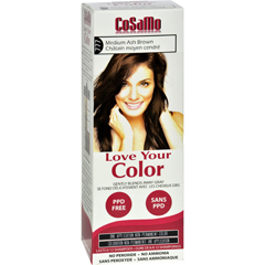 HGR1577923 - Love Your ColorHair Color - CoSaMo - Non Permanent - Med Ash Brown - 1 ct