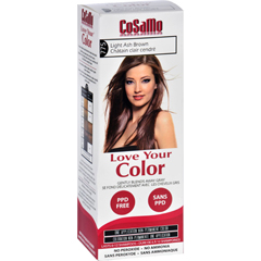 HGR1577980 - Love Your ColorHair Color - CoSaMo - Non Permanent - Lt Ash Brown - 1 ct