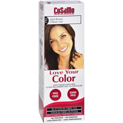 HGR1577998 - Love Your ColorHair Color - CoSaMo - Non Permanent - Light Brown - 1 Count