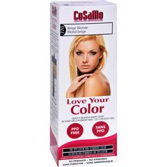 HGR1578004 - Love Your ColorHair Color - CoSaMo - Non Permanent - Beige Blonde - 1 ct