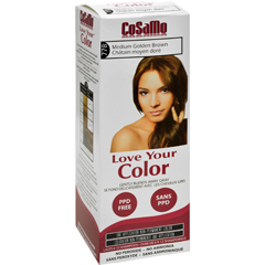 HGR1578087 - Love Your ColorHair Color - CoSaMo - Non Permanent - Med Gold Brown - 1 ct
