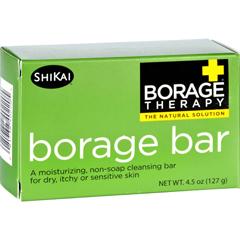HGR1579739 - Shikai ProductsCleansing Bar - Non Soap - Borage - 4.5 oz