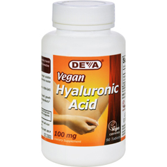 HGR1582444 - Deva Vegan Vitamins - Vitamins Hyaluronic Acid - 100 mg - 90 Vegan Tablets