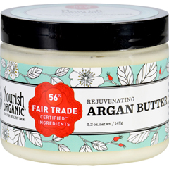 HGR1583426 - NourishOrganic Argan Butter - Organic - Rejuvenating - 5.2 oz