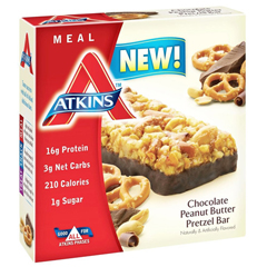 HGR1583566 - AtkinsAdvantage Bar - Chocolate Peanut Btr Prtzl - 5 ct - 1.7 oz - 1 Case