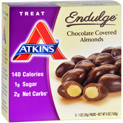 HGR1583590 - AtkinsEndulge Pieces - Chocolate Covered Almonds - 5 ct - 1 oz