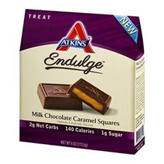 HGR1583608 - AtkinsEndulge Pieces - Milk Chocolate Caramel Squares - 5 oz - 1 Case