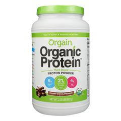 HGR1583848 - Orgain - Organic Protein Powder - Plant Based - Creamy Chocolate Fudge - 2.03 lb