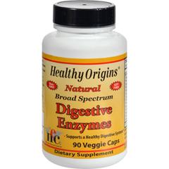 HGR1583913 - Healthy Origins - Digestive Enzymes - 90 Vegetarian Capsules