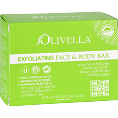 HGR1584416 - OlivellaBar Soap - Face and Body - Exfoliating - 5.29 oz