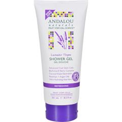 HGR1599547 - Andalou NaturalsShower Gel - Lavender Thyme Refreshing - 8.5 fl oz
